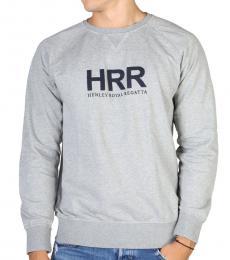 Hackett Grey Front Logo Sweatshirts