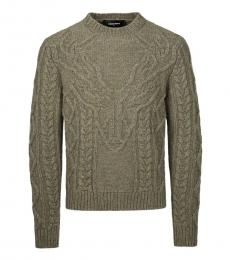 Dsquared2 Taupe Knitted Sweater