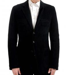 Dolce & Gabbana Black Three Button Blazer