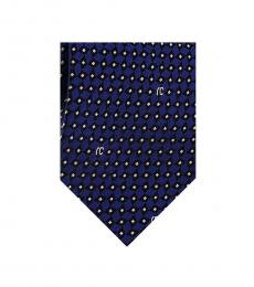Royal Blue Micro Geometric Tie