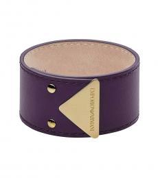 Purple Abstract Bracelet