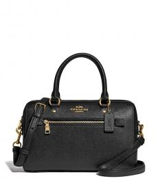 Black Rowan Small Satchel
