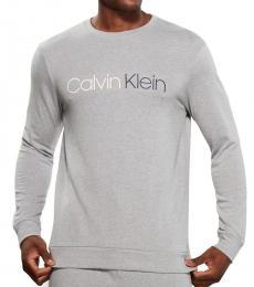 Calvin Klein Grey Immerge Long Sleeve Sweatshirt