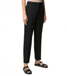 Black Wool Slim Fit Trouser