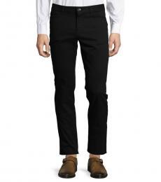 Black Parker Slim Fit Stretch Pants