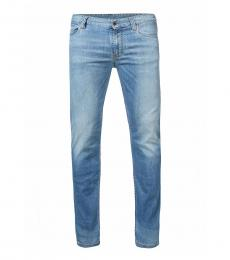 Armani Jeans Blue Straight Fit Jeans