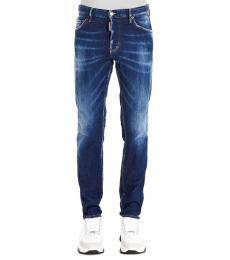 Dark Blue Cool Guy Jeans