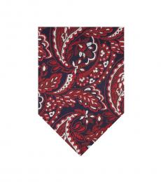 Ted Baker Red Paisley Modish Tie