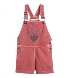 Stella McCartney Little Girls Pink Dungaree