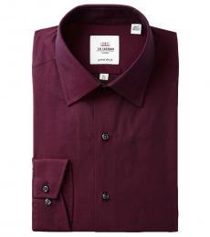 Cherry Tailored Slim Fit Dress Shirt
