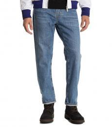 AG Adriano Goldschmied Blue Tellis Modern Slim Fit Jeans