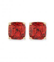 Kate Spade Red Square Stud Earrings
