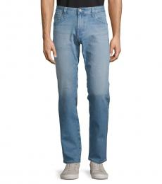AG Adriano Goldschmied Blue Graduate Tailored-Leg Jeans