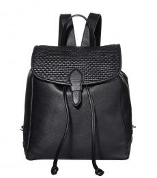 Black Bethany Medium Backpack