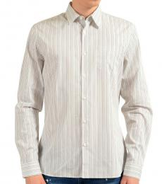 White Striped Dress Shirt