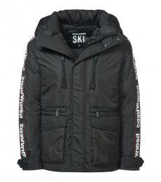 Dsquared2 Black Sleeve Logo Jacket
