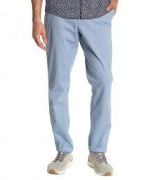 Michael Kors Chambray Slim Fit Chino Pants