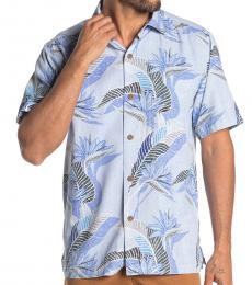 Light Blue-South Pacific Hawaiian Shirt