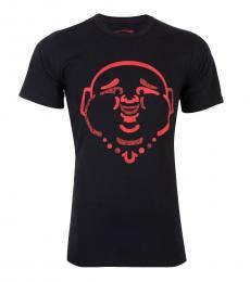 True Religion Black Original Buddha T-Shirt