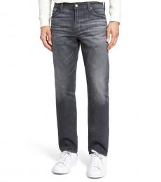 AG Adriano Goldschmied Dark Grey Everett Slim Straight Jeans