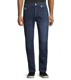 True Religion Blue Fresh Relaxed Skinny-Fit Jeans