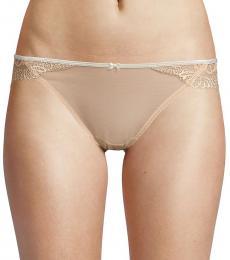 DKNY Beige Lace Bikini Panty