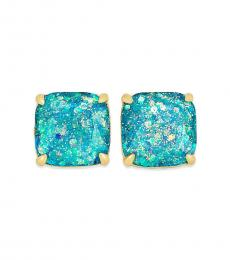 Kate Spade Light Blue Square Stud Earrings