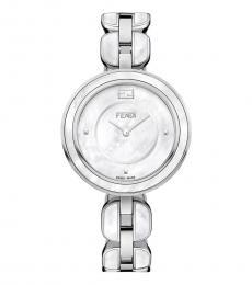 Fendi Silver Ritzy My Way Time Piece
