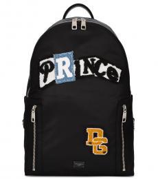 Dolce & Gabbana Black Prince Large Backpack