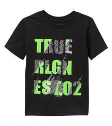 True Religion Little Boys Black Scratch T-Shirt