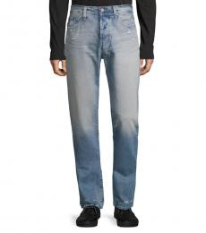 Years Distressed Straight Jeans