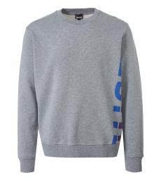 Grey Side Logo Sweatshirt