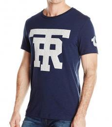 True Religion Blue University Of Tr T-Shirt