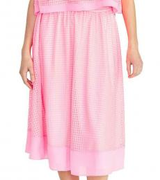 Rachel Roy Pink Casual Midi Skirt