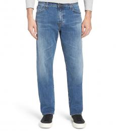 AG Adriano Goldschmied Blue Ives Straight Jeans