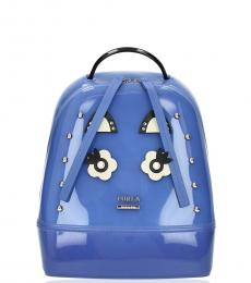 Furla Blue Candy Cupido Small Backpack