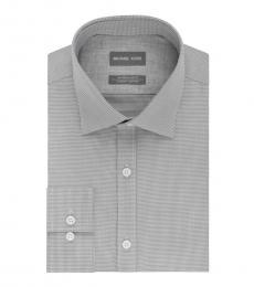 Ash Regular Fit Airsoft Cotton Dress Shirt