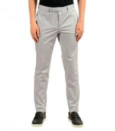 Hugo Boss Grey Stretch Casual Pants