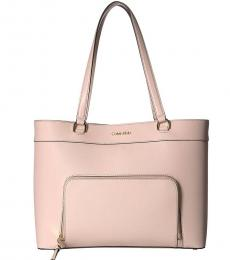 Light Straw Louise Large Tote