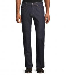 Dark Wash Slim-Fit Stretch Jeans