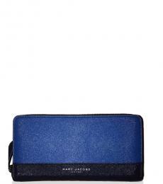 Marc Jacobs Indigo Blue Continental Wallet