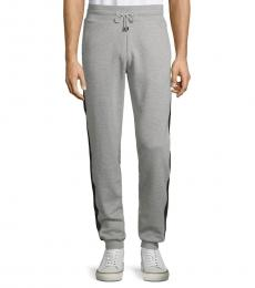 Grigio Felpa Tapered Sweatpants