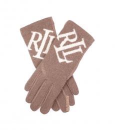 Ralph Lauren Mole Skin Touch Screen Gloves