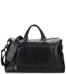 Robert Graham Black Pirro Large Weekender Bag