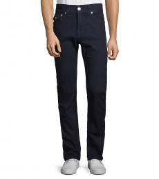 True Religion Dark Wash Rocco Flap Pocket Straight Jeans