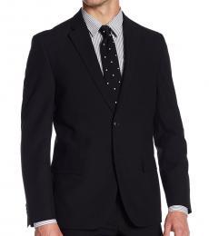 Ben Sherman Black Notch Lapel Suit Jacket