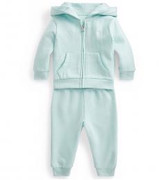 Ralph Lauren 2 Piece Hoodie/Pant Set (Baby Girls)