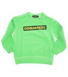 Dsquared2 Boys Blue Printed Sweatshirt