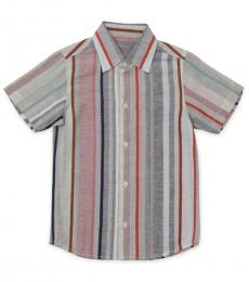 Self Stitch Boys Earthy Stripe Shirt