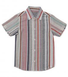 Self Stitch Baby Boys Earthy Stripe Shirt